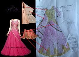 new lehenga design dress sketch clothing trends
