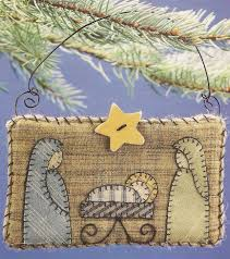 nativity quilt ornament quilted ornaments ornament and