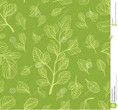 Light Green Color by Seamless Pattern With Leaves On The Light Green Color Stock Vector