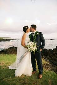 hawaiian weddings stylish hawaiian wedding at white orchid house junebug