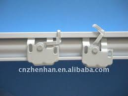 Plastic Curtain Track Brackets Metal Curtain Wall Bracket Or Installation Bracket And Ceiling