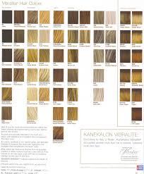 raquel welch color charts