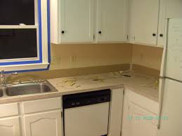 kitchen countertops without backsplash how to remove countertops without damaging cabinets memsaheb