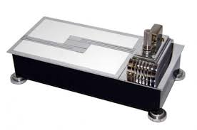 impressive figural deco ronson touch touch tip lighter and cigarette box ivory and chrome the ronson