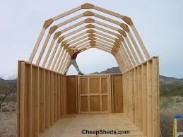 how to build a barn style roof gambrel barn style sheds
