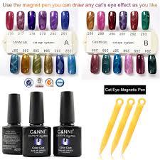 51023h low moq beauty nail art 24 colors 7 3ml cat eye nail gel