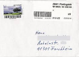 Mainpost Bad Kissingen Philaseiten De 1153 Moderne Privatpost In Deutschland