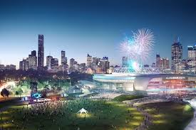 cox architecture u0027s rod laver arena redevelopment designs revealed