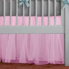 Crib Light Adorable Tulle Light Pink Ruffle Crib Skirt In All Sizes U0026 Drop