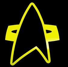ds 9 star trek deep space nine fan art vinyl fiction decals matt dark red ds 9 badge star trek deep space nine vinyl decals stickers