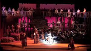 children of musical staged concert