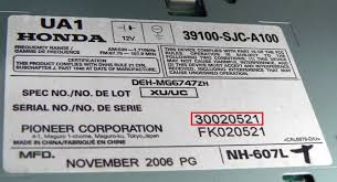 official honda radio codes online honda radio decoding