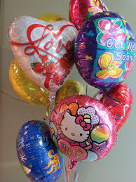 get balloons delivered fancy get well balloons flowers on 1st balloon bouquet