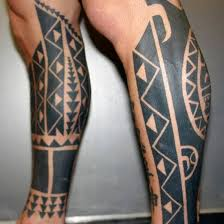 60 tribal leg tattoos for cool cultural design ideas