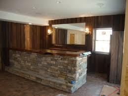 Basement Bar Top Ideas Wooden Bar Counters For Home Home Design Ideas Homeplans