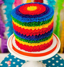 birthday cake ideas rainbow sweets photos blog