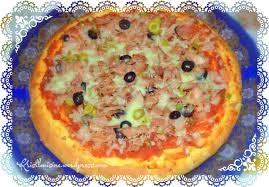 cuisine tunisienne pate au thon pizza tunisienne au thon krist l cuisine