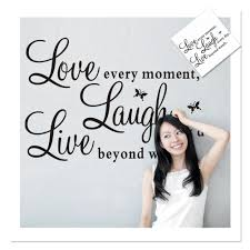 Live Laugh Love Home Decor by Online Get Cheap Fashion Love Quotes Aliexpress Com Alibaba Group