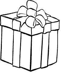 coloring pictures of christmas presents christmas present coloring pages page presents throughout design 7