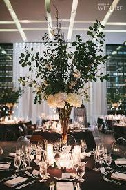 Black And White Centerpieces For Weddings by Best 25 Modern Wedding Centerpieces Ideas On Pinterest Modern