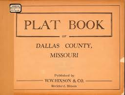 Map Of Missouri Counties Plat Books Of Missouri Collection Mu Digital Library
