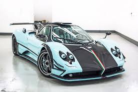 pagani zonda gold pagani zonda 760rsjx is almost an identical copy of the zonda uno