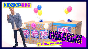Kidz Bop Meme - kidz bop 34 unboxing special surprise youtube