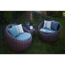 Wicker Deep Seating Patio Furniture by Ae Outdoor Corona 3 Piece All Weather Wicker Patio Deep Seating