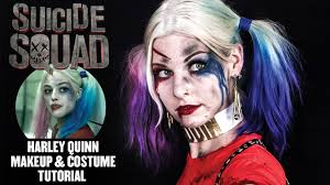 harley quinn makeup tutorial u0026 halloween costume how to