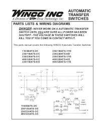 60701 136 parts list pss12h4w a winco generators