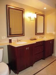 recessed lighting in bathroom placement