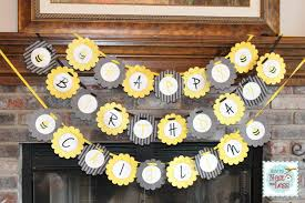 bumble bee decorations bumblebee themed birthday party with free printables how to nest