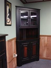 corner cabinet with doors amish farmhouse pine corner hutch corner hutch corner and room