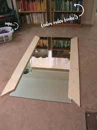 Do It Yourself Wood Floors Nine Red Diy Floor Mirror