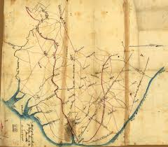 Fairfax County Map Places In Civil War History Tensions In Northern Virginia And