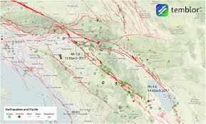 De Anza Map Southern California Earthquake Map U2013 Temblor Net