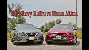 nissan altima 2015 car gurus 2016 chevrolet malibu vs nissan altima youtube