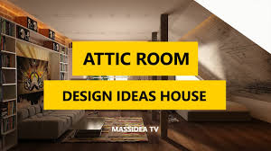 50 epic attic room design ideas for your house 2017 youtube