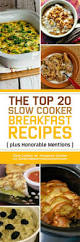 the top 20 slow cooker breakfast recipes plus honorable mentions