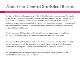 central statistical bureau central statistical bureau a series of economic research preparation