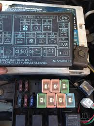 2000 eclipse fuse box mitsubishi galant fuse box diagram image