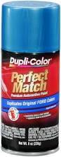 amazon com dupli color bfm0382 medium blue metallic ford exact