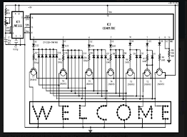 led sign sequencer 7 steps