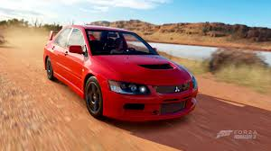 mitsubishi evolution 2006 forza horizon 3 cars