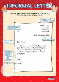 informal letter format gplusnick