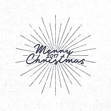 And New Year Holidays In The Sun Merry 2017 Lettering Typography Vector