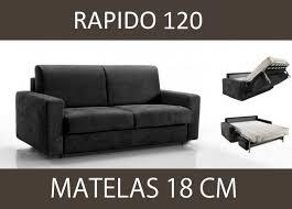 canape lits canape lit 2 places master convertible ouverture rapido 120 cm
