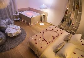 une nuit en amoureux avec dans la chambre chambre romantique lyon maison design edfos com avec nuit romantique