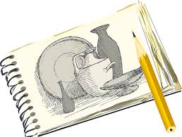 free vector graphic sketch draw pencil notepad free image on