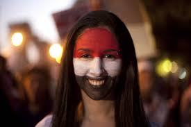 Color Of Egypt Flag The Story Of Supportegypt Facebook Profile Pictures Think Marketing